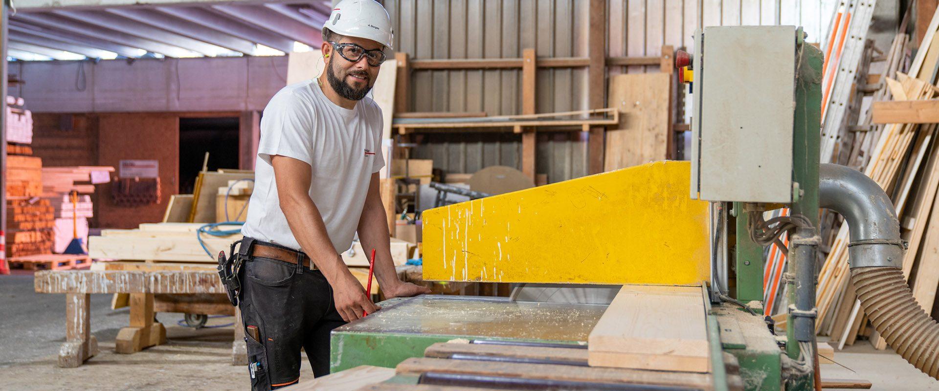 Hächler Holzbau Werkstatt