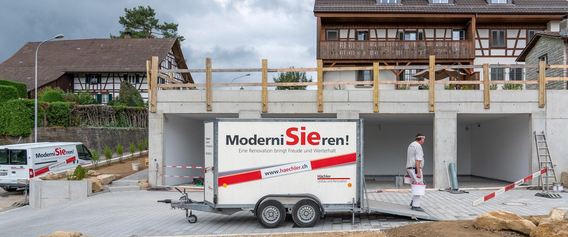Hächler Umbau, Renovation, Modernisierung